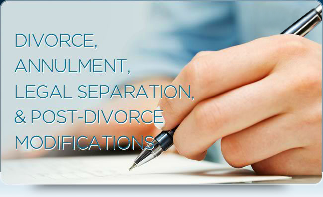 Annulment and other legal services